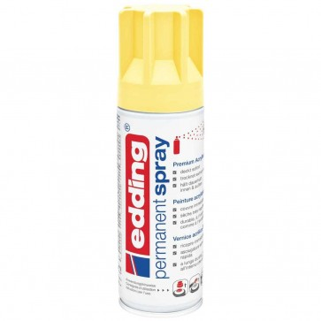EDDING Lack Spray 5200 200ml pastellgelb matt