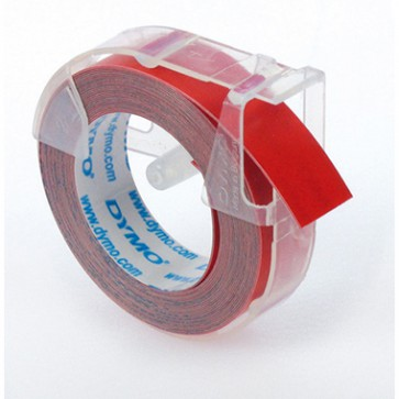 DYMO Prägeband S0898150 9mmx3m sk Kunststoff glänzend rot