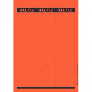 LEITZ Rückenschilder 1687 rot 61x285mm 75 Stück