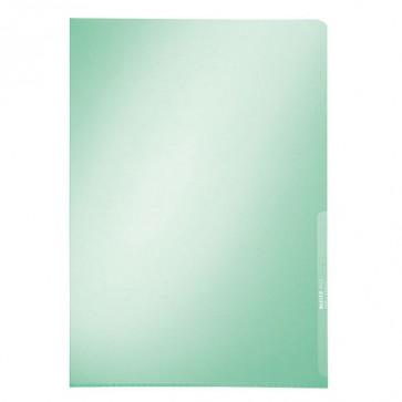 LEITZ Sichthüllen A4 4100 PVC Hartfolie grün 0,15mm