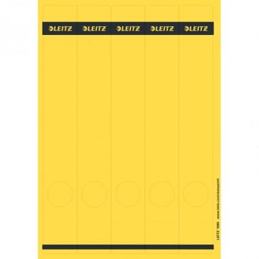 LEITZ Rückenschilder 1688 gelb 39x285mm 125 Stück