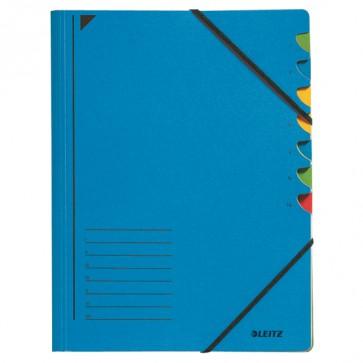 Ordnungsmappe 7 Fächer blau