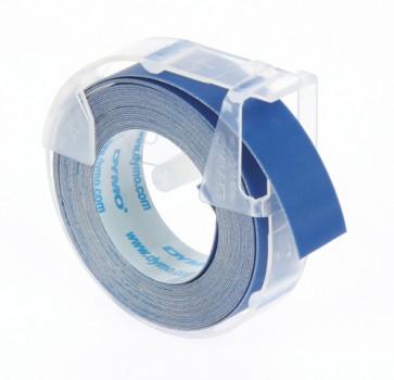 Prägeband Junior, Omega 9mm x 3m glänzend blau