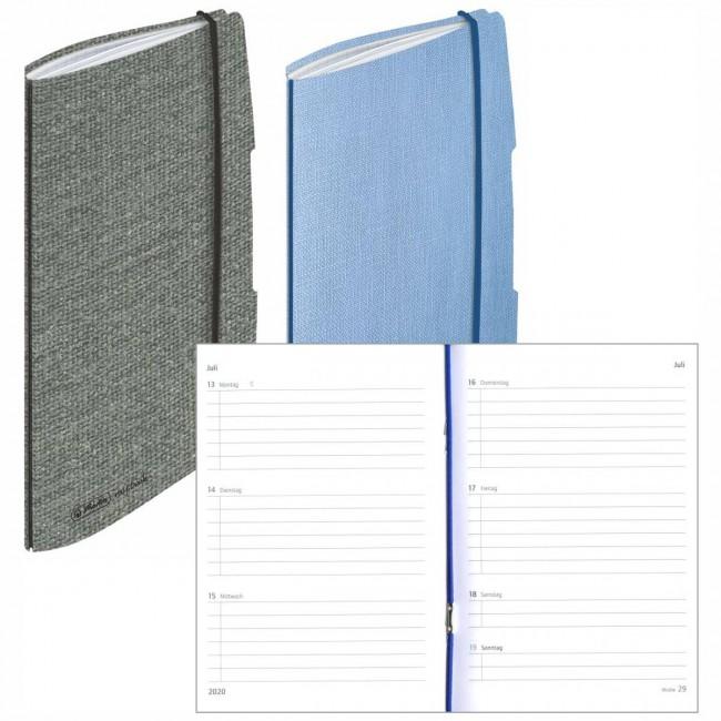 Herlitz Taschenkalender Minitimer Flex A6 2020 1 Woche 2 Seiten 144 Seiten