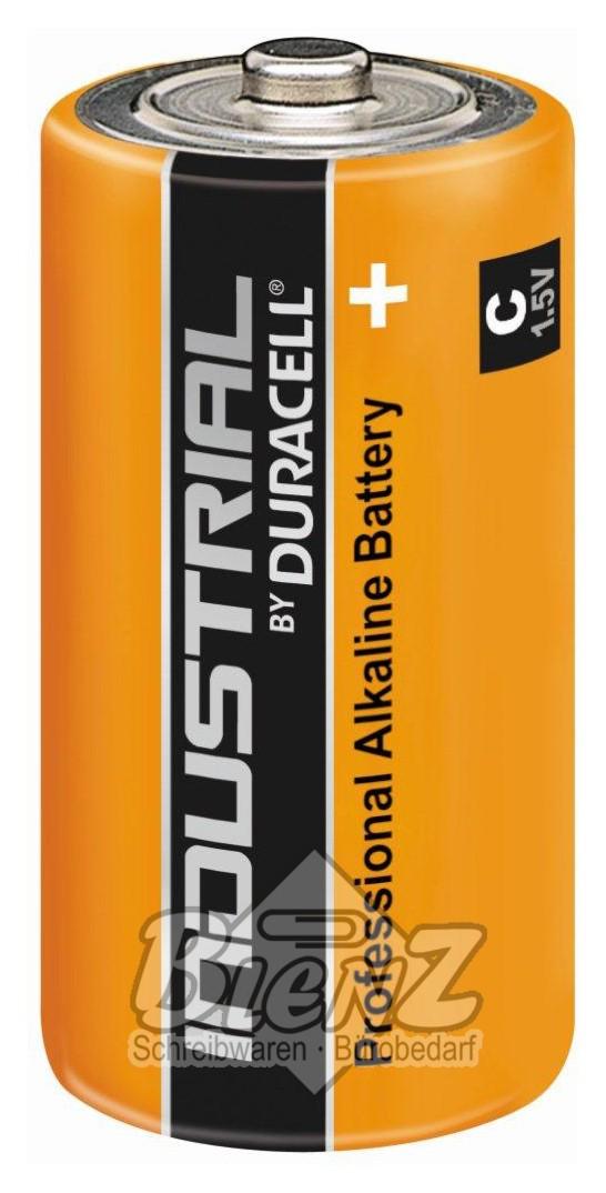 Batterie Baby C : duracell industrial batterie baby c 1 5v lr14 mn1400 ~ Watch28wear.com Haus und Dekorationen