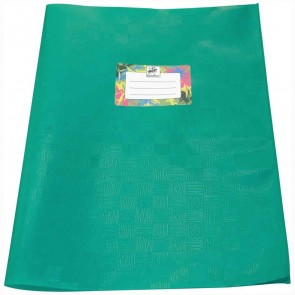 STAUFEN Heftumschlag PP-Folie / Kunststoff A4 dunkelgrün