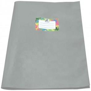 STAUFEN Heftumschlag PP-Folie / Kunststoff A4 grau
