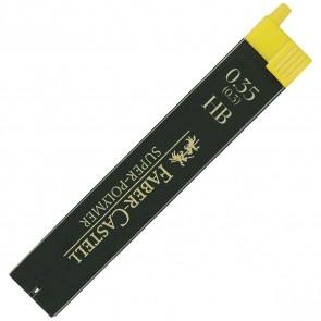 FABER CASTELL Bleistiftmine SUPER-POLYMER 0,35mm HB 12 Stück