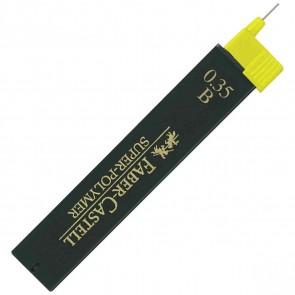 FABER CASTELL Bleistiftmine SUPER-POLYMER 0,35mm B 12 Stück