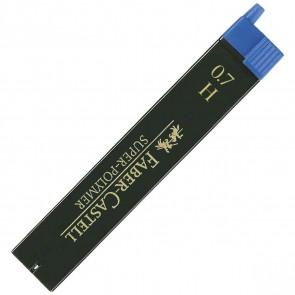 FABER CASTELL Bleistiftmine SUPER-POLYMER 0,7mm H 12 Stück