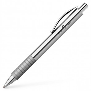 FABER CASTELL Kugelschreiber BASIC Metall hochglanz chrom