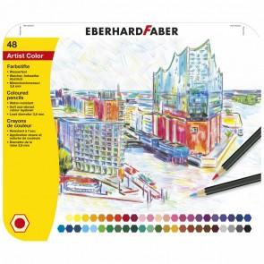 EBERHARD FABER Farbstifte Artist Color wasserfest 48 Stück im Metalletui