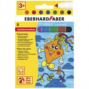 EBERHARD FABER Fasermaler JUMBO 8 Farben 1-6mm