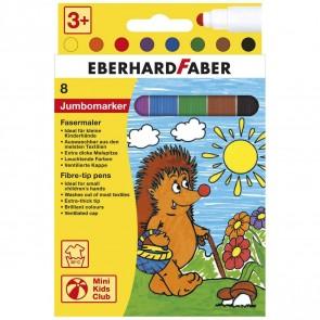 EBERHARD FABER Fasermaler JUMBO 8 Farben ca. 3mm