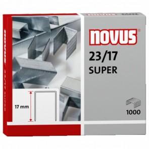 NOVUS Heftklammer 23/17 SUPER 1000 Stück bis 140 Blatt