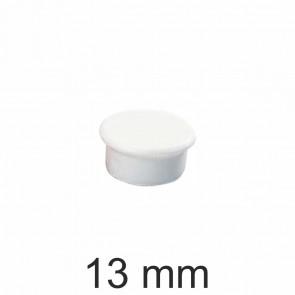 DAHLE Haftmagnet 13mm weiß Haftkraft 100g