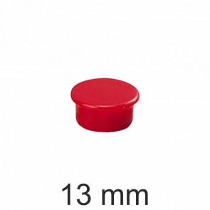 DAHLE Haftmagnet 13mm rot Haftkraft 100g