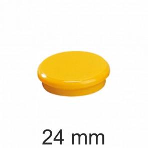 DAHLE Haftmagnet 24mm gelb Haftkraft 300g