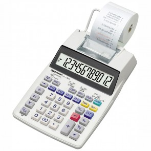 SHARP Tischrechner druckend EL-1750V