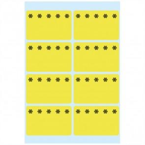 HERMA Tiefkühletiketten 3771 26x40mm neongelb 48 Stück