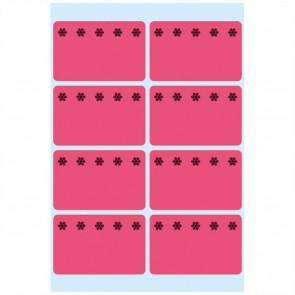 HERMA Tiefkühletiketten 3772 26x40mm neonrot 48 Stück