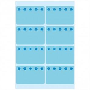 HERMA Tiefkühletiketten 3773 26x40mm neonblau 48 Stück