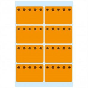 HERMA Tiefkühletiketten 3774 26x40mm neonorange 48 Stück