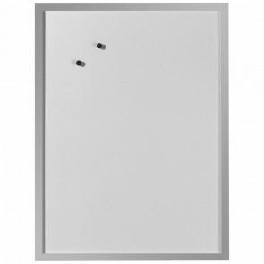 HERLITZ Whiteboard 40x60cm magnetisch, Holzrahmen silber