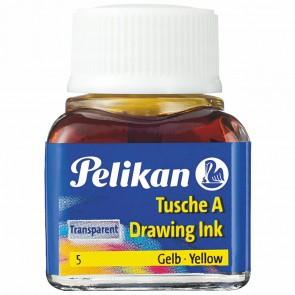 PELIKAN Tusche im Glas 10ml gelb (5)