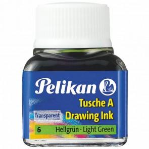 PELIKAN Tusche im Glas 10ml hellgrün (6)