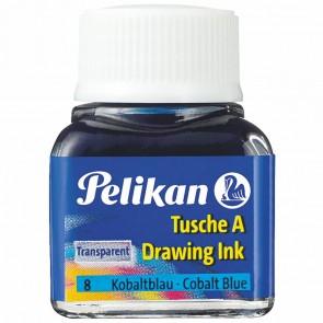 PELIKAN Tusche im Glas 10ml kobaltblau (8)