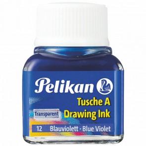 PELIKAN Tusche im Glas 10ml blauviolett (12)