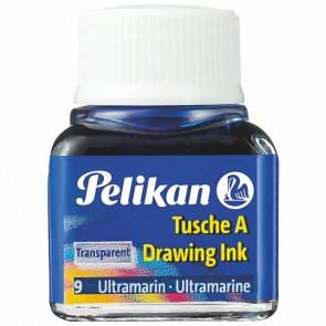 PELIKAN Tusche im Glas 10ml preußischblau (10)