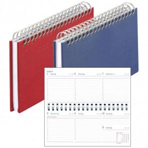 HERLITZ Schreibtischkalender Mini Classic 2019 quer 17,5 x 9 cm 144 Seiten