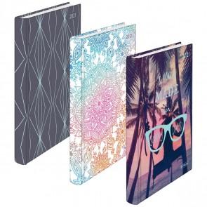 HERLITZ Buchkalender RAINBOW A5 2021 1 Tag = 1 Seite verschiedene Motive