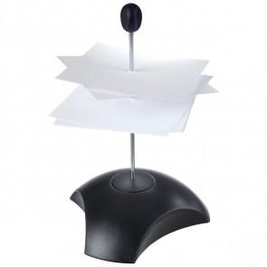 HAN Zettelspießer Delta schwarz mit Schutzkappe