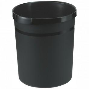 HAN Papierkorb GRIP 18190 18 Liter schwarz