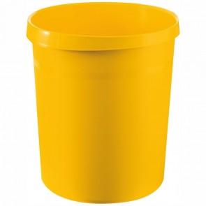 HAN Papierkorb GRIP 18190 18 Liter gelb