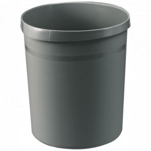 HAN Papierkorb GRIP 18190 18 Liter dunkelgrau