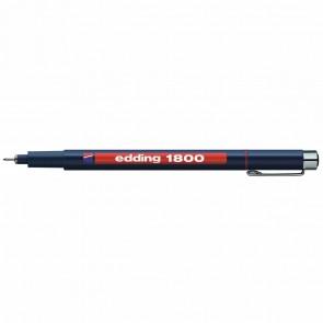 EDDING Fineliner 1800 profipen 0,1mm rot