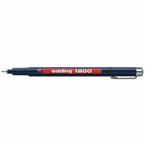 EDDING Fineliner 1800 profipen 0,3mm schwarz