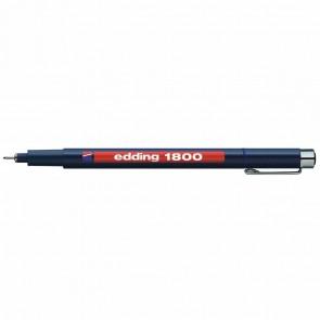 EDDING Fineliner 1800 profipen 0,3mm blau