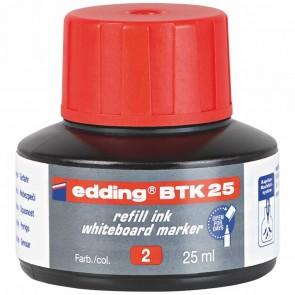 EDDING Nachfülltusche BTK25 25ml für Boardmarker rot