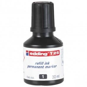 EDDING Nachfülltinte T25 schwarz 30ml für edding Permanentmarker