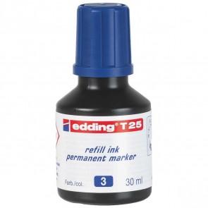 EDDING Nachfülltinte T25 blau 30ml für edding Permanentmarker