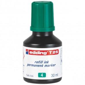 EDDING Nachfülltinte T25 grün 30ml für edding Permanentmarker