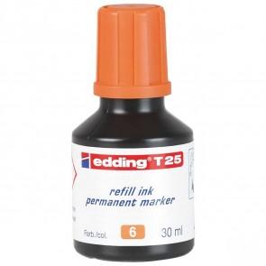 EDDING Nachfülltinte T25 orange 30ml für edding Permanentmarker