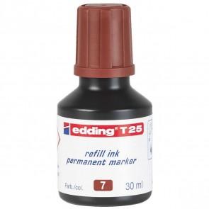 EDDING Nachfülltinte T25 braun 30ml für edding Permanentmarker