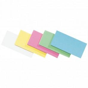 LEGAMASTERModerationskarten Rechteck 9,5x20cm farbig sortiert 500 Stück