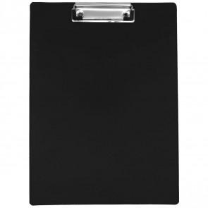 Klemmbrett A4 schwarz  kunststoffüberzogen